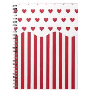 Valentines Day Popcorn Note Book