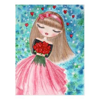 """Valentine's Day"" Postcard"