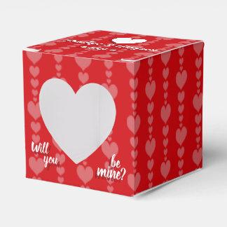 Valentine's Day Proposal Box Favor Box
