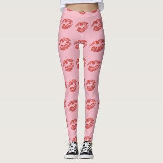 Valentine's Day | Red Lip | Lipstick | Leggings