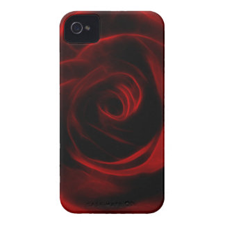 Valentines day red rose Case-Mate iPhone 4 case