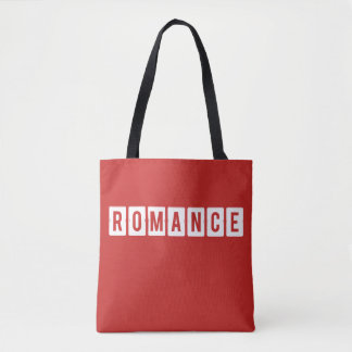 Valentine's Day Romance Red Tote Bag