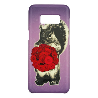 Valentines Day Rose funny squirrel Case-Mate Samsung Galaxy S8 Case