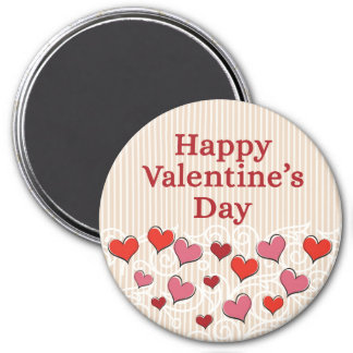 Valentine's Day Round or Square Magnet