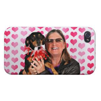 Valentine's Day - Sadie - Dachshund iPhone 4 Covers