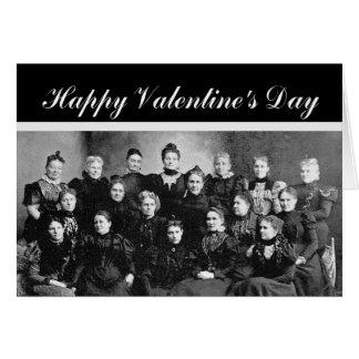 Valentine's Day Secret Admirer Vintage Card