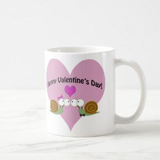 Valentines Day Snails Coffee Mug