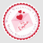 Valentine's Day Stickers Goodie Bags