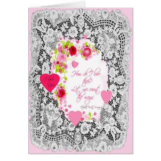 Valentines Day Sweetheart Card