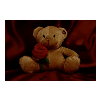 Valentine's Day Teddy Bear Posters