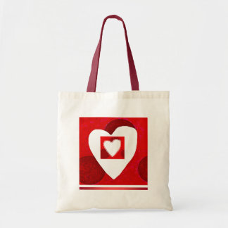 Valentines Day tote Budget Tote Bag