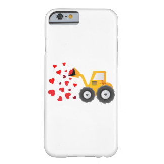 Valentine's Day Tractor Hearts Gift Kids Boys Barely There iPhone 6 Case
