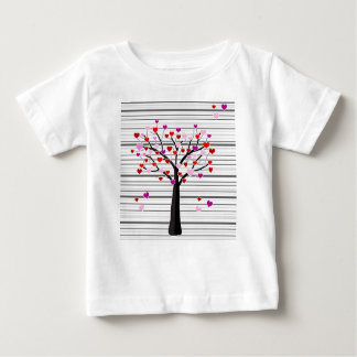 Valentine's day tree baby T-Shirt