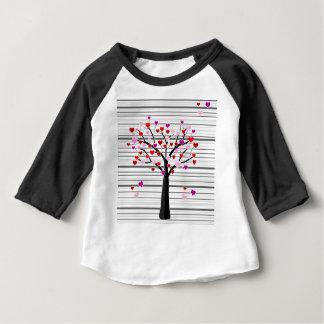 Valentine's day tree baby T-Shirt