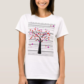 Valentine's day tree T-Shirt