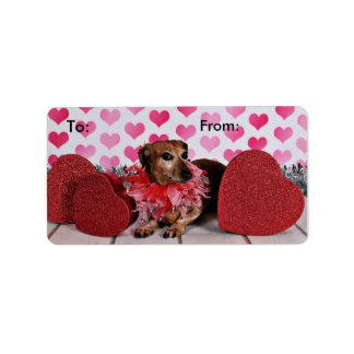 Valentine's Day - Trudy - Dachshund