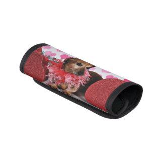 Valentine's Day - Trudy - Dachshund Handle Wrap