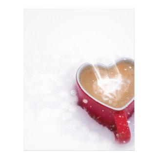 Love Valentines Day Letterhead Custom Love Valentines Day