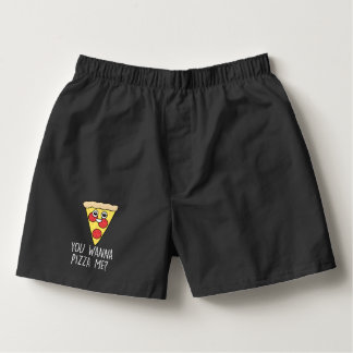 Valentines Day 'Wanna Pizza Me? Boxers