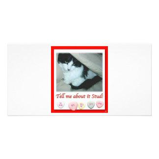 Valentine's Day Wedding Photo Greeting Card