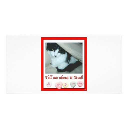 Valentine's Day Wedding Photo Greeting Card