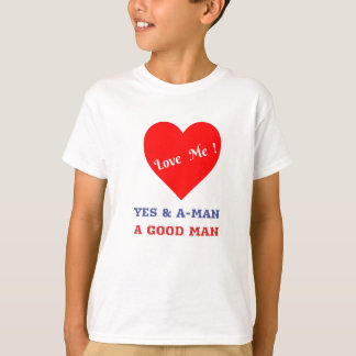 VALENTINES DAY YES AND AMEN  T-SHIRT