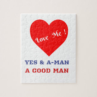 VALENTINES DAY YES AND AMEN  T-SHIRT PUZZLES