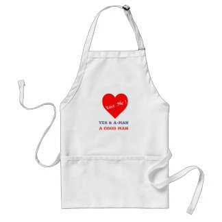 VALENTINES DAY YES AND AMEN  T-SHIRT STANDARD APRON