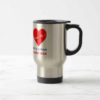 VALENTINES DAY YES AND AMEN  T-SHIRT TRAVEL MUG