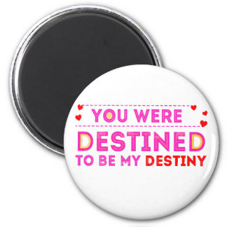 VALENTINES DAY YOU ARE MY DESTINY MAGNET