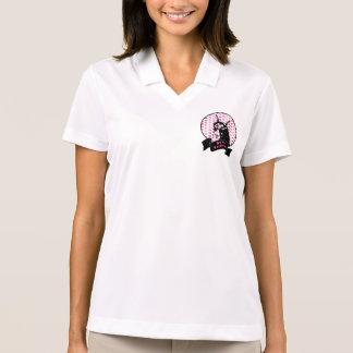 Valentines - Doberman Dog Silhouette Polo Shirt