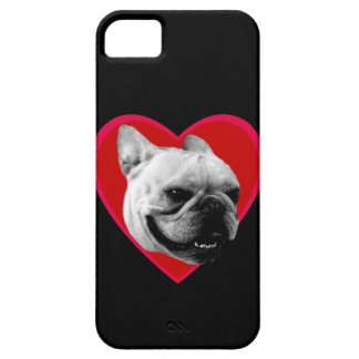 Valentine's French Bulldog iPhone 5 Case