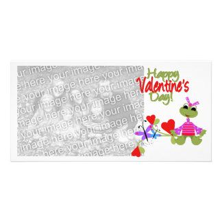 Valentines Frog Photocard Photo Cards