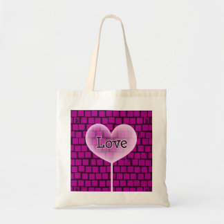 Valentine's Heart # 6 Budget Tote Bag