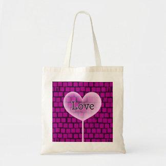 Valentine's Heart # 6 Budget Tote Bag
