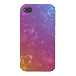 Valentine's Hearts Case Cases For iPhone 4