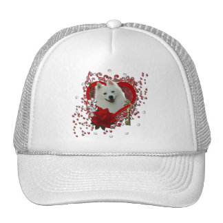 Valentines - Key to My Heart - American Eskimo Hats