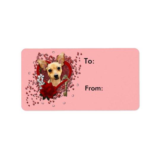 Valentines - Key to My Heart - Chihuahua - Daisy