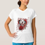 Valentines - Key to My Heart - Dalmatian T-Shirt