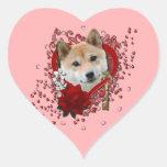 Valentines - Key to My Heart - Shiba Inu