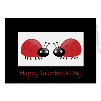 Valentine's Lady Bug Card