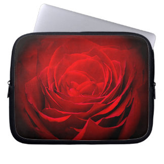 Valentine's Laptop Sleeve Red Rose