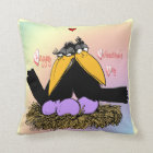 Valentine's Love Nest Keepsake Pillow