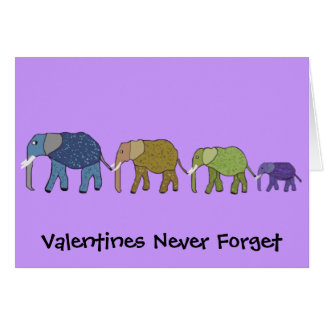 Valentines Never Forget Card
