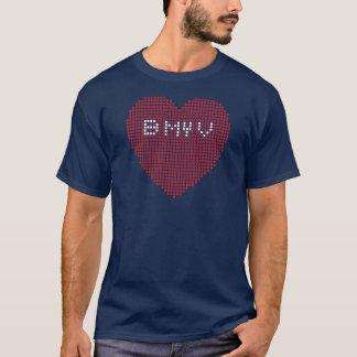 Valentines Pixel B MY V T-Shirt