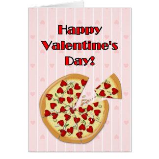 Valentine's Pizza Card