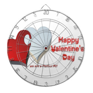 Valentine's Puzzle Dartboard