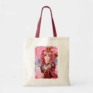 Valentines Queen of Hearts budget tote