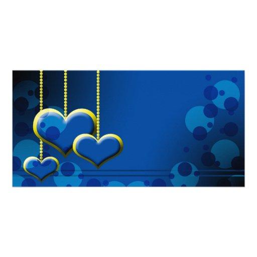 Valentines Romance Photo Card