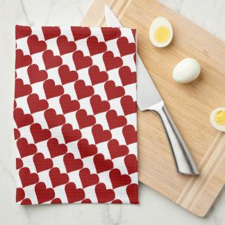 Valentine's Towels Valentine's Tea Towels Custom